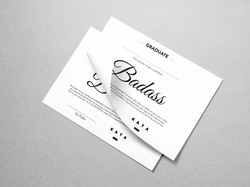 Badass Certificate