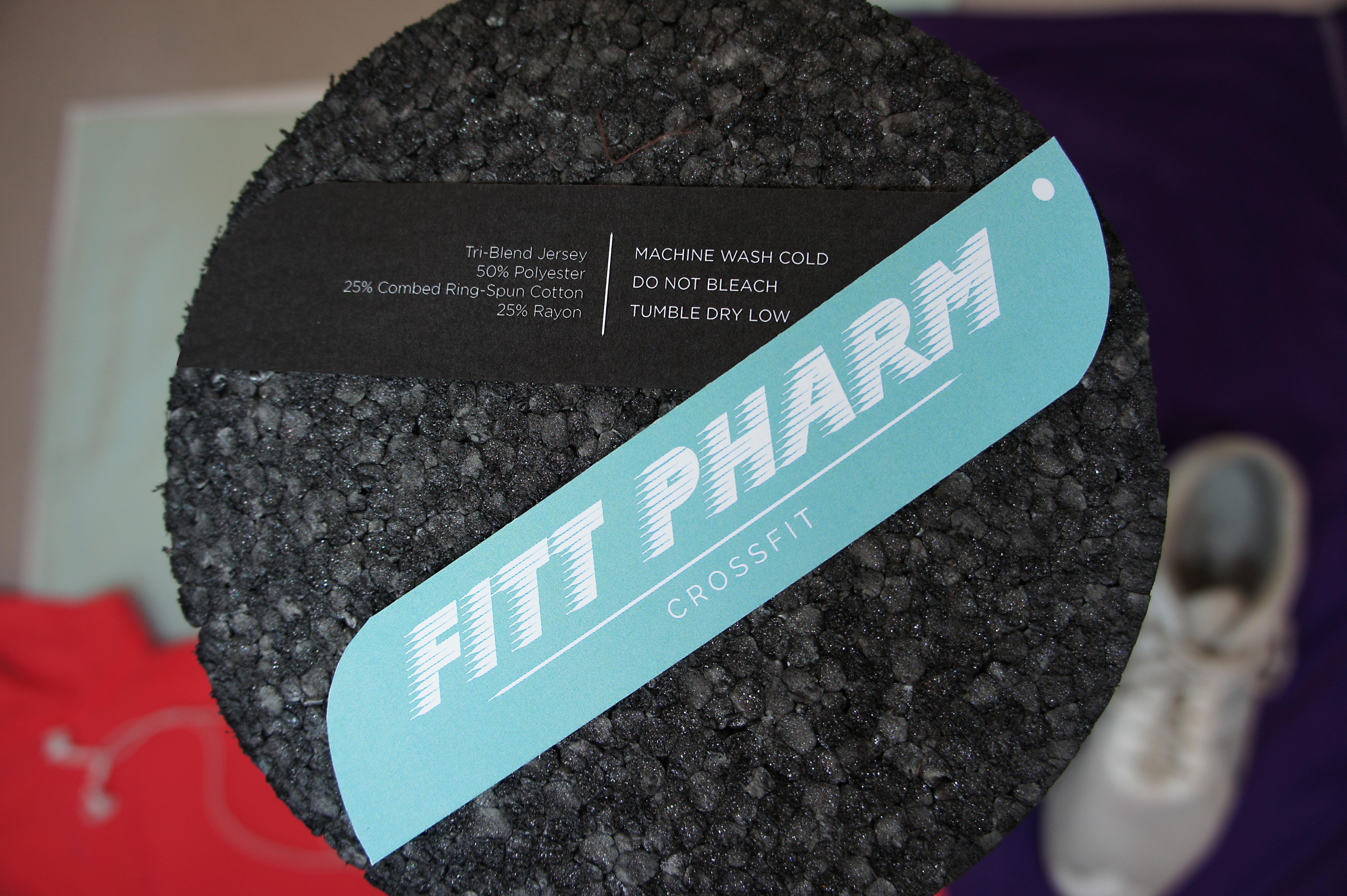 Fitt Pharm Clothing Tag