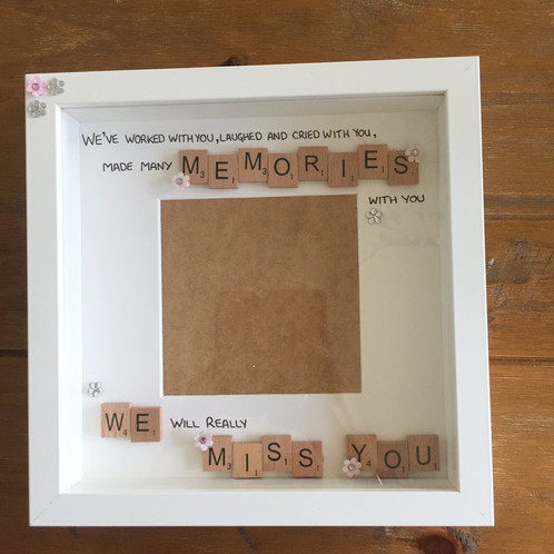 we will miss you frame - Miss You Picture Frames