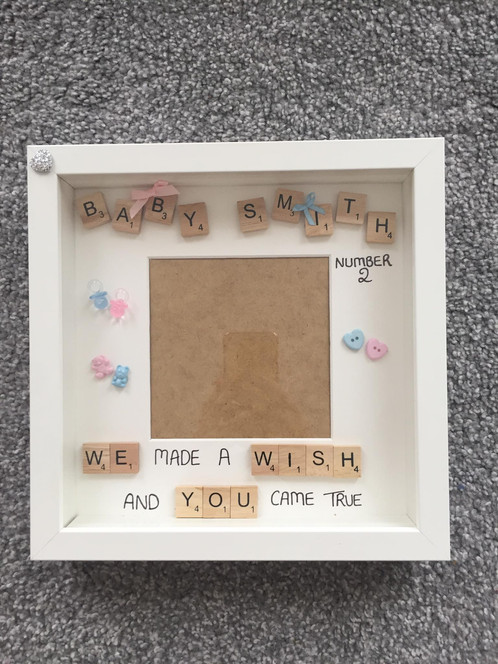 Baby Shower Frame