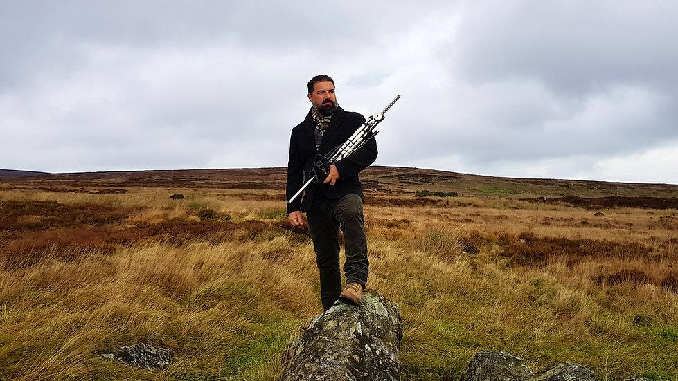 Gaita de fole Irlandesa; música celta, uilleann pipes