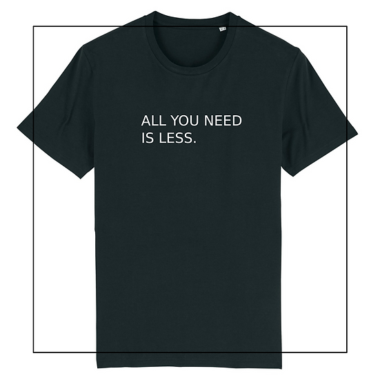 unisex Shirt 'all you need'