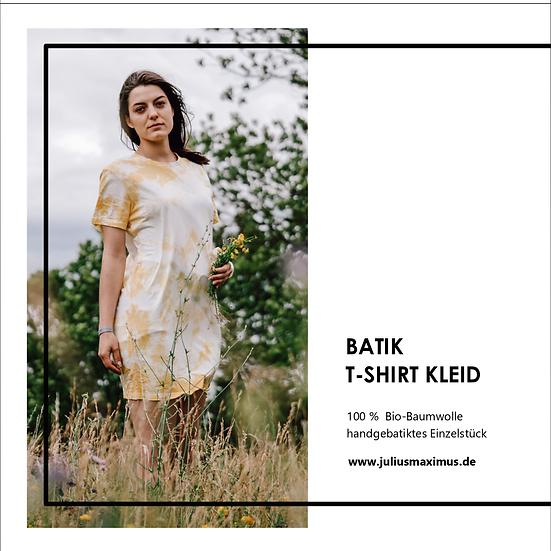 Batik Kleid (gelb)M
