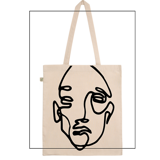 Shopper Bag 'Oneline no. two'