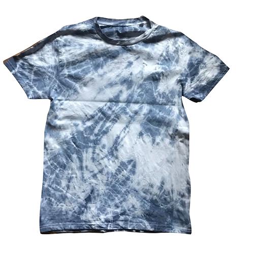 Batik Shirt (blau) S