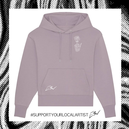 oversized Hoodie 'DOPE SHIT by LeBow'