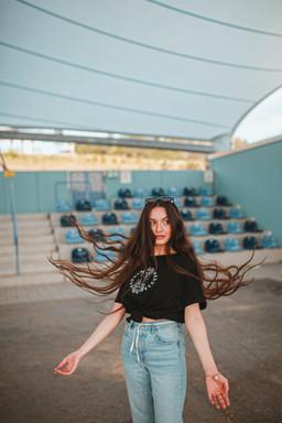 T-Shirt Kleid 'Medusa'