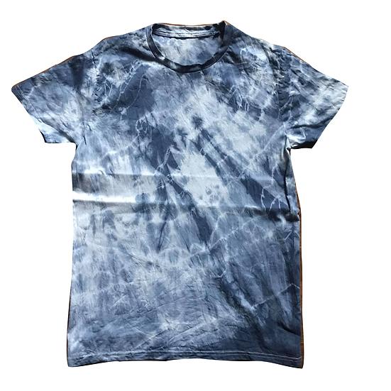 Batik Shirt (blau) M
