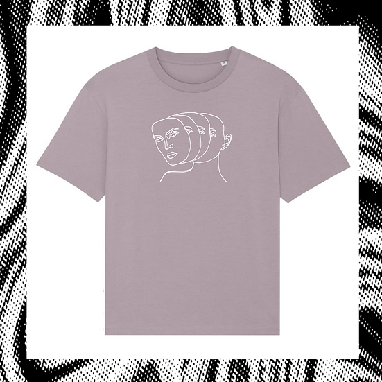oversized Shirt 'MASQUERADE'