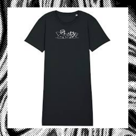 T-shirt Kleid 'INNER CONFLICTS'
