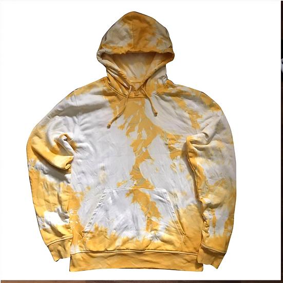 Batik Hoodie (gelb) M