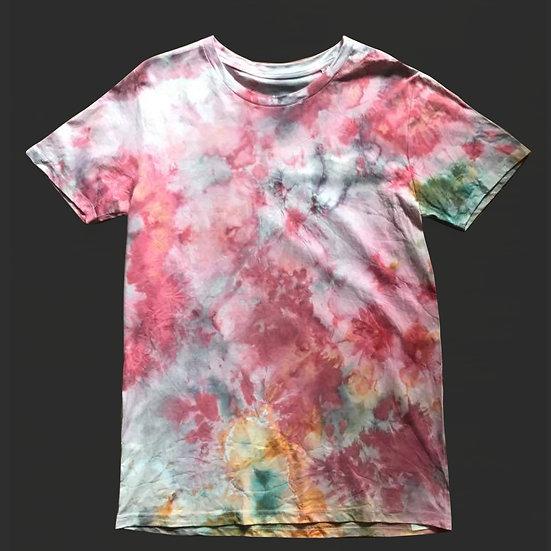 watercolor Batik Shirt (no.1) M