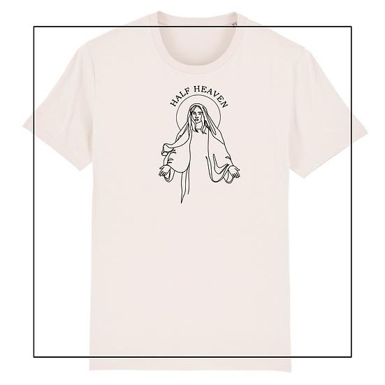 Shirt 'half heaven half hell'