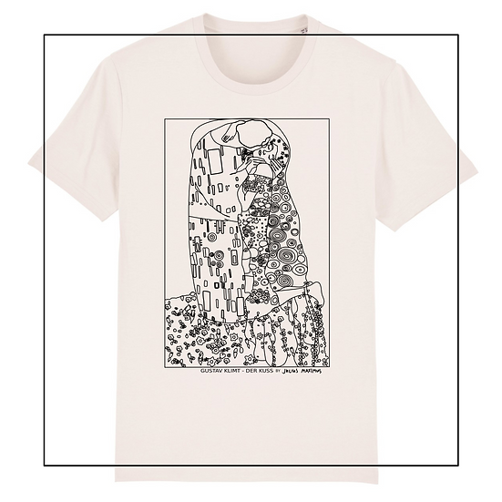Shirt 'KLIMT - the kiss' - by JULIUS MAXIMUS