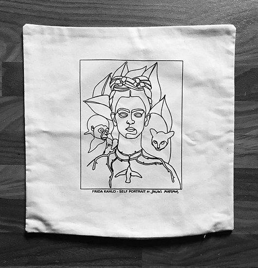 Pillow Case'FRIDA KAHLO by JM'