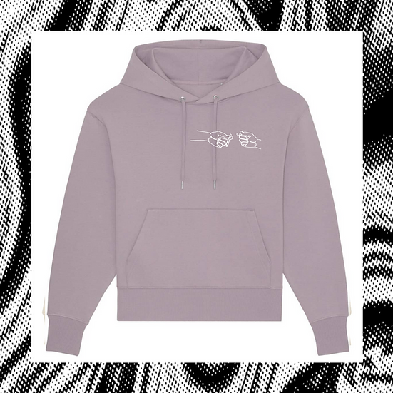 oversized Hoodie 'SHARING IS CARING'