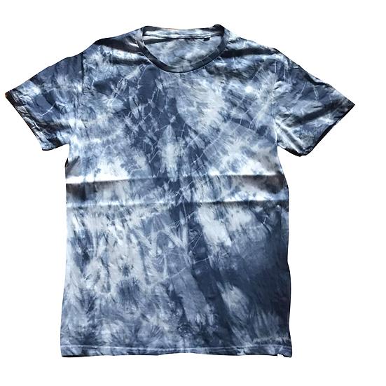 Batik Shirt (blau) L