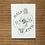 Thumbnail: Postkarten Set 'badass'