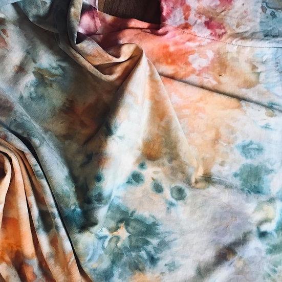 watercolor Batik Shirt (no.3) M