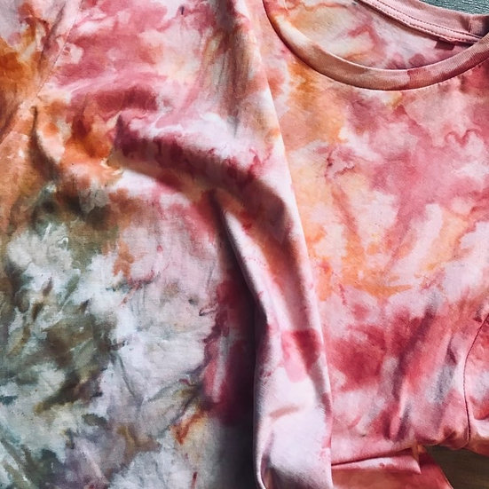 watercolor Batik Shirt (no.2) L
