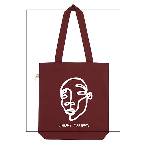 Shopper Bag 'Scribbled face no.5'