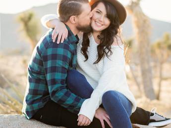 Natalie and Scott's Engagement {Joshua Tree}