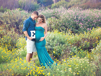 Alison and Will's Maternity Session