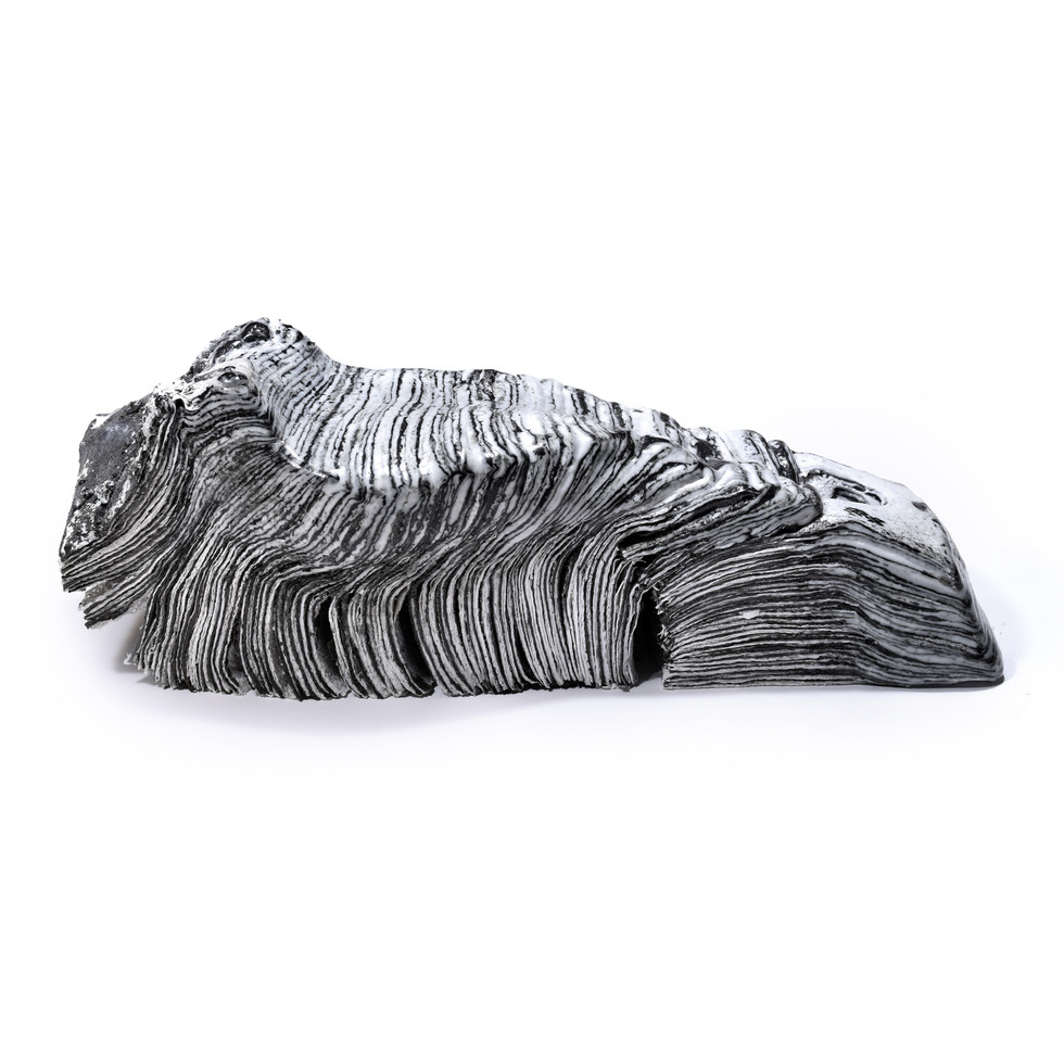 Collapsed Form_B4-3W-1, 2020