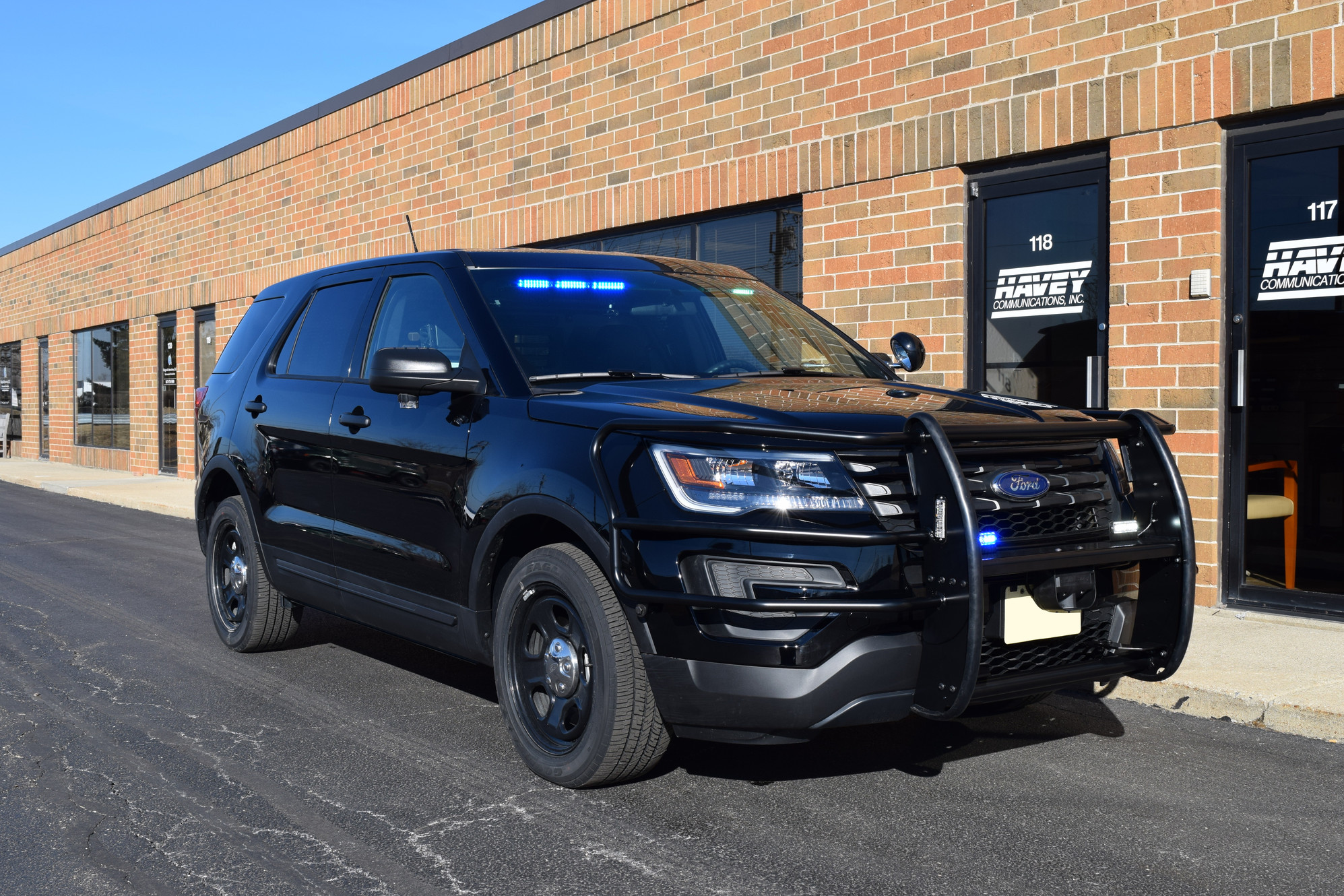 2017 Ford Interceptor Utility - K9 Unit