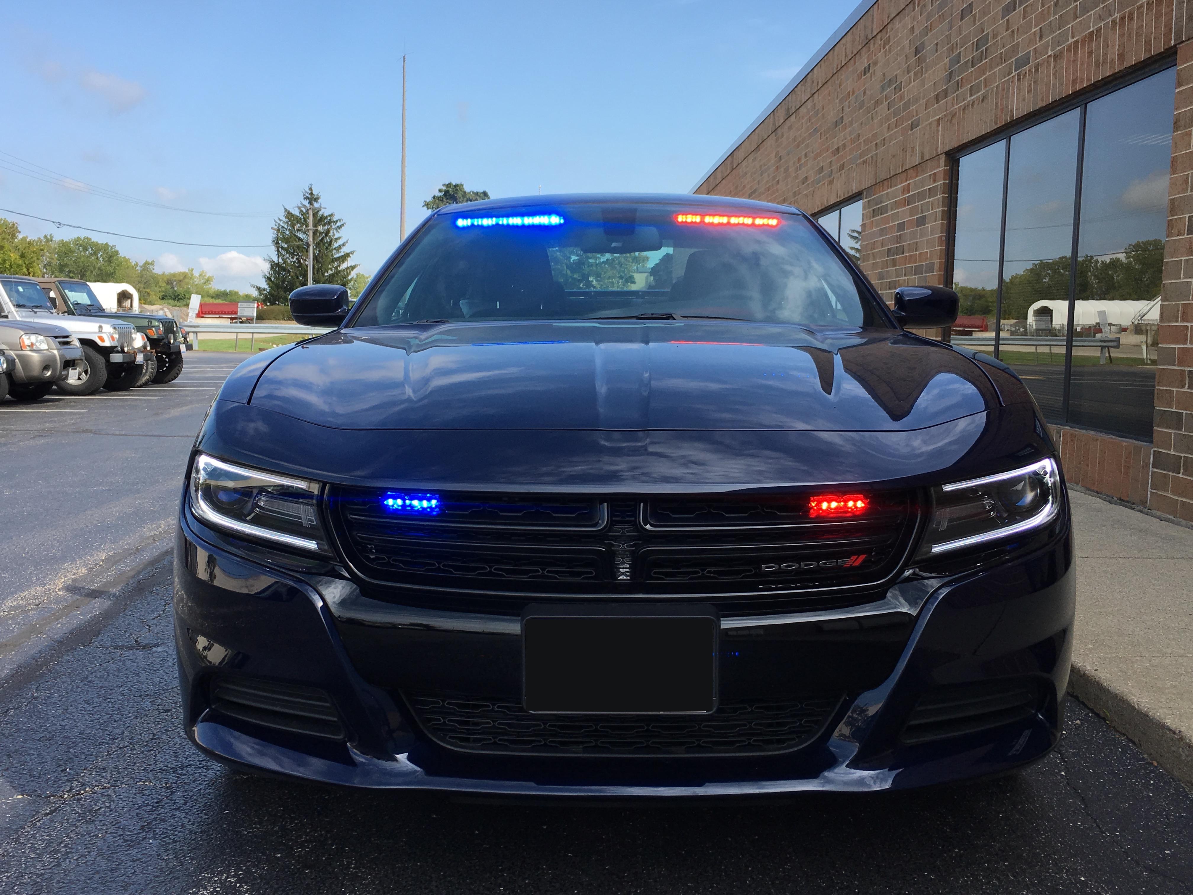 dodge charger unmarked emergency vehicle upfitting havey communications
