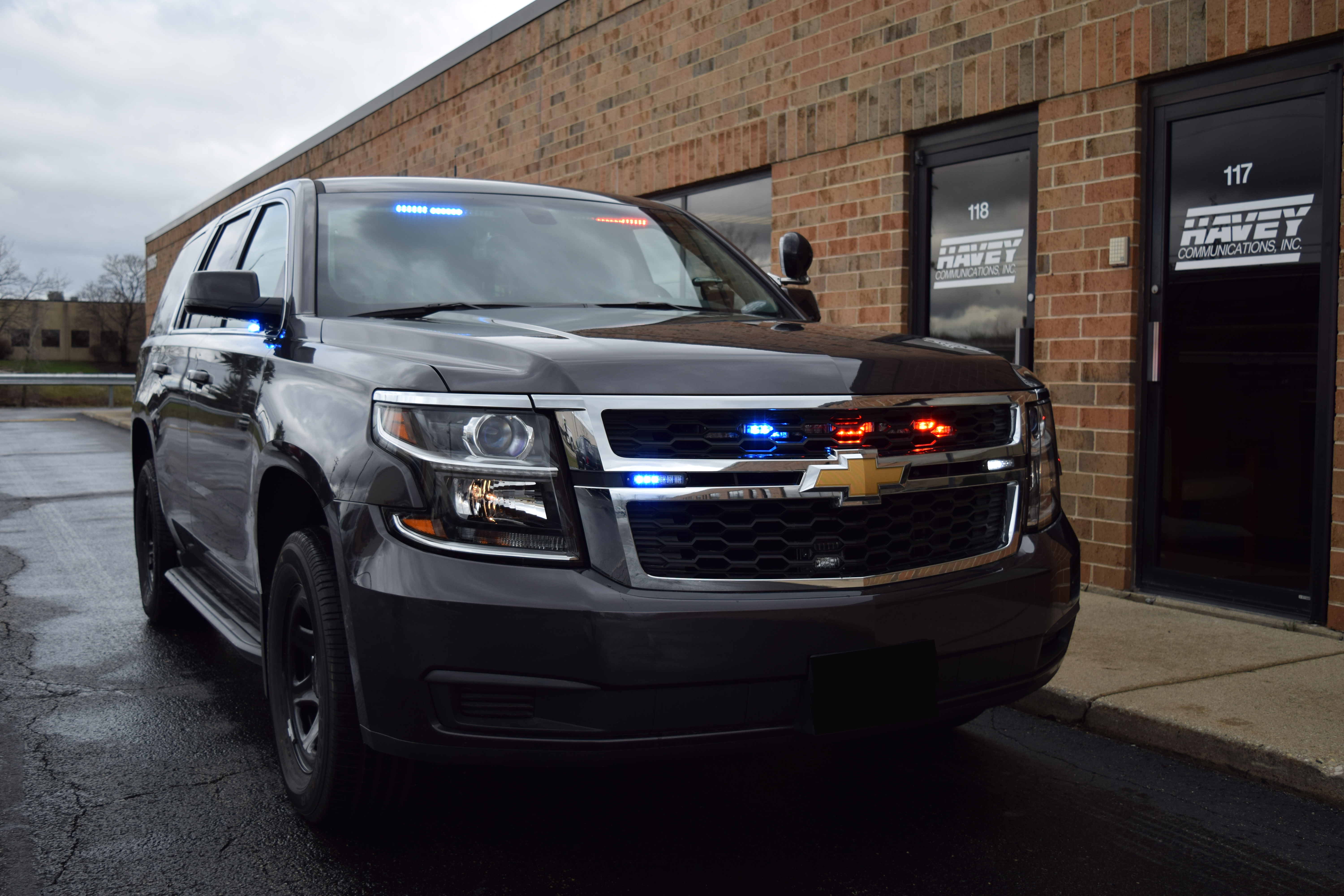 2017 Chevy Tahoe Pursuit K9 Unmarked Emergency Vehicle