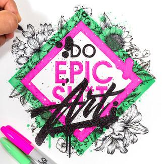 Sharpie -  Do Epic Art