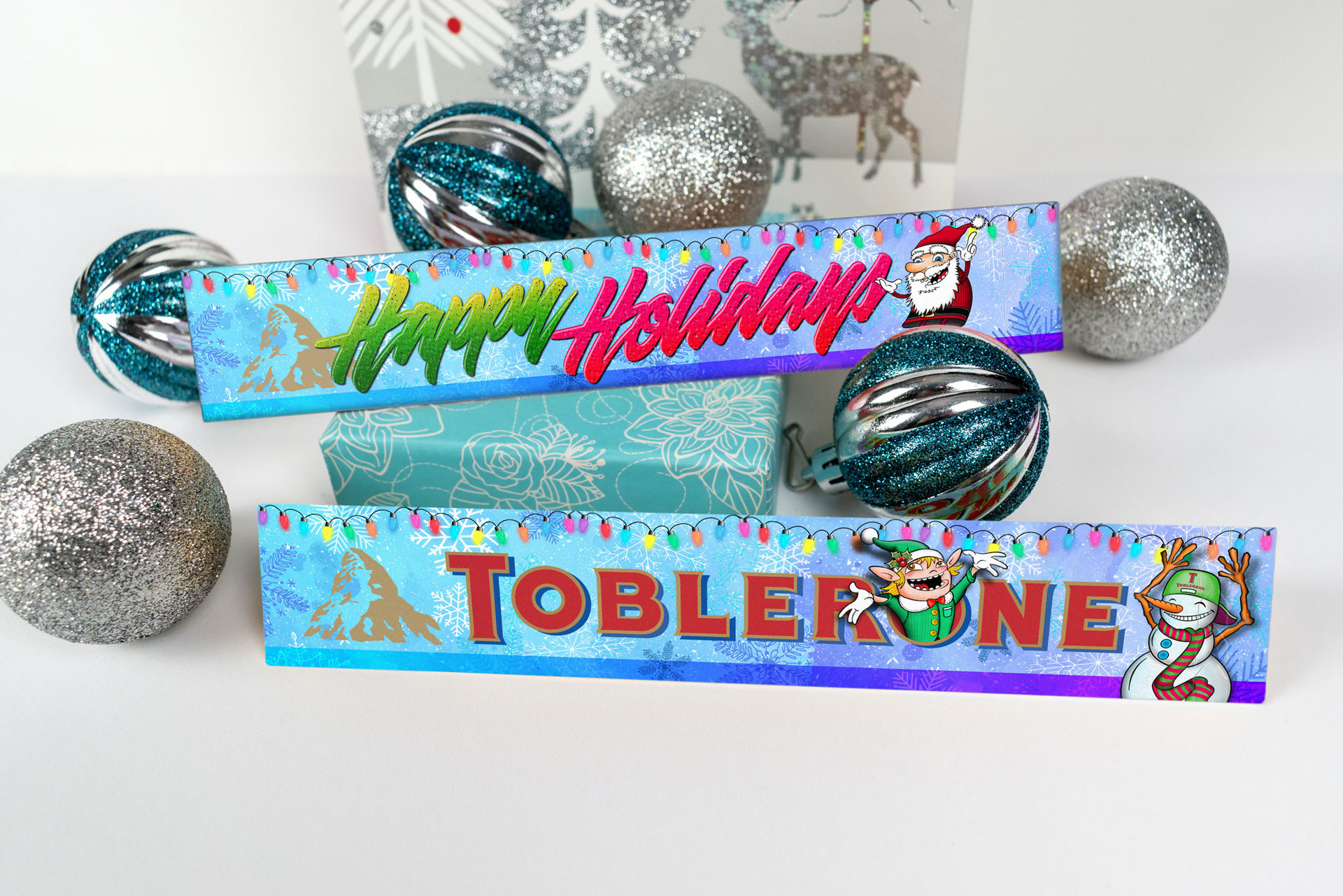 Toblerone Christmas Design