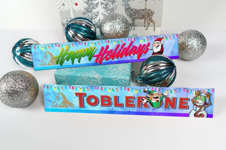 Toblerone Christmas Design