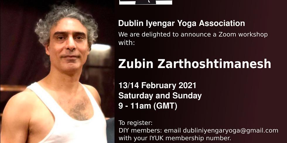 Zubin Zarthoshtimanesh Workshop