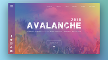 UI Challenge - Day 1: Gradient Avalanche
