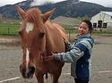 Mari Okazaki, Reiki for horse, Chilliwack, Vancouver