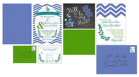 Bridal Suite Stationery