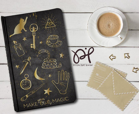 Journal Design - Magic Theme