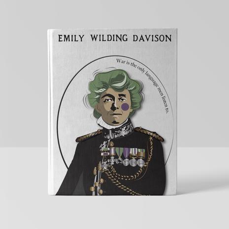 Suffragette, Emily Wilding Davison Illustration