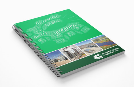 Spiral Bound Architect's Notebook for Construction Innovations