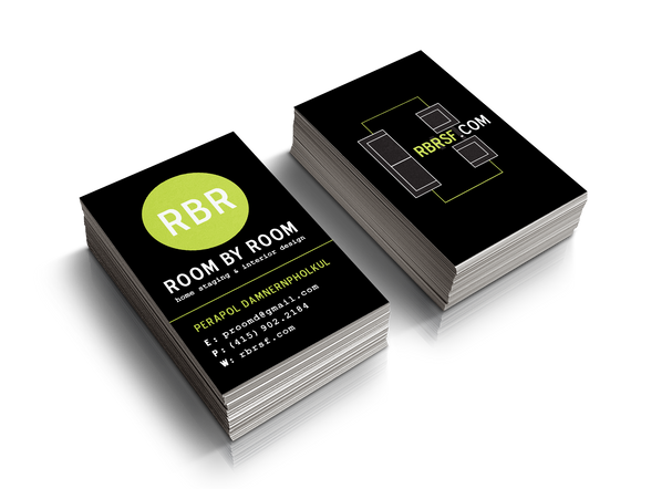 Room By Room Business Cards