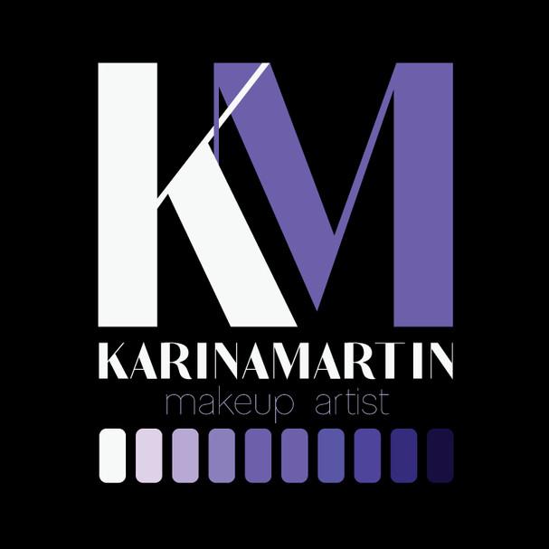 Branding for makeup artist, Karina Martin