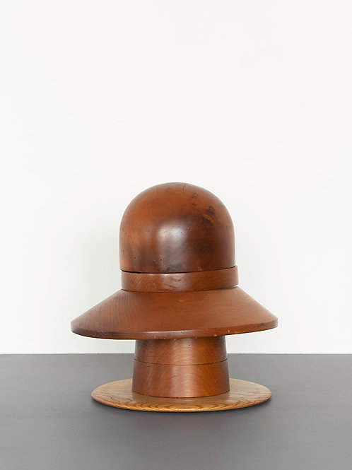 Wood Hat Block