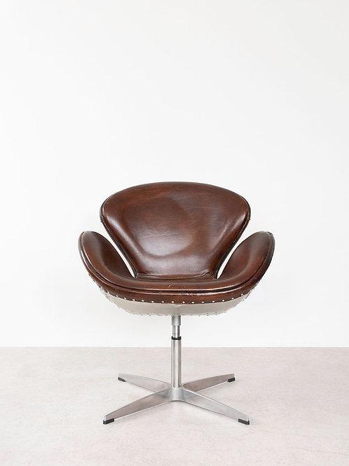 Swan Chair -Aluminum Back