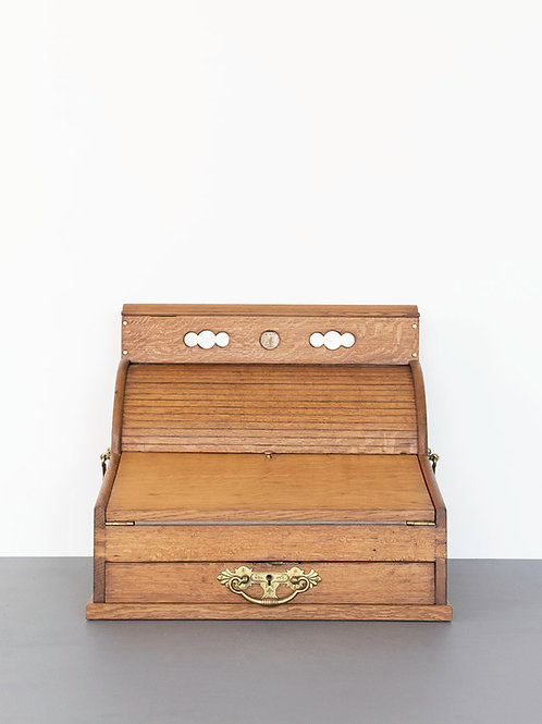Roll Top Stationery Desk