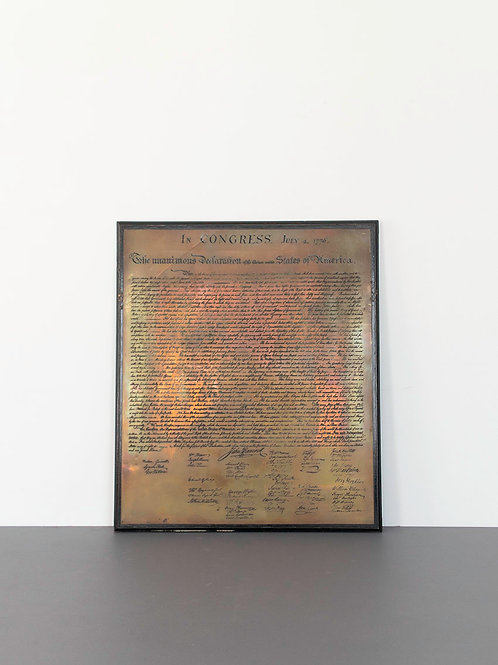U.S.Desclartion Of Independence