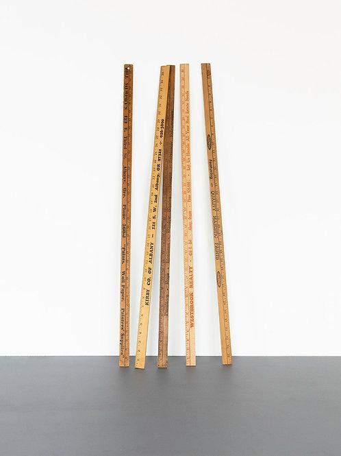 Wood Measuring Rod