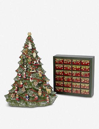 CHRISTMAS TOYS MEMORY CALENDARIO DE ADVIENTO ARBOL VILLEROY & BOCH