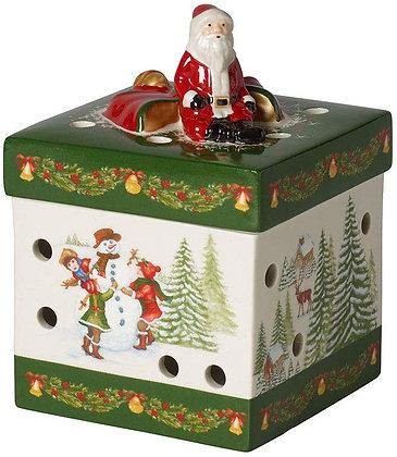 MY CHRISTMAS TREE COLGANTE CAMPANA CON MU?ECO NIEVE VILLEROY & BOCH